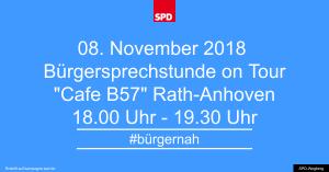 Bürgersprechstunde im November 2018 @ Cafe B57 | Wegberg | Nordrhein-Westfalen | Deutschland