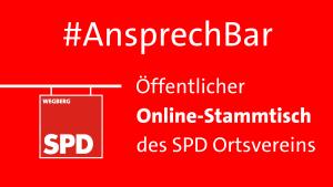 Online-Stammtisch SPD Ortsverein @ Online Per Zoom | Wegberg | Nordrhein-Westfalen | Deutschland